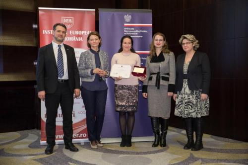 Premiul de excelenta IER 2016 - 2