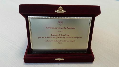Premiul de excelenta IER 2016 - 3