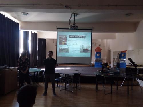 prezentarea proiectului realizata de elevi (1)
